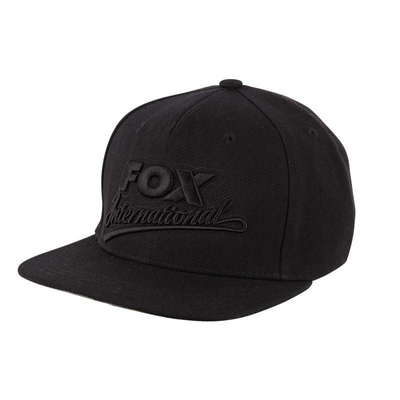 ea8e74df3b Fox Black Camo Snap Black Special sapka - CPR983 - Fogas Sport ...